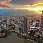 Saigon/hochiminh City from above