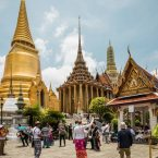 Foreign-tourists-visit-the-Temple-of-the-Emerald-Buddha-Wat-Phra-Kaew-Grand-Palace-Bangkok-