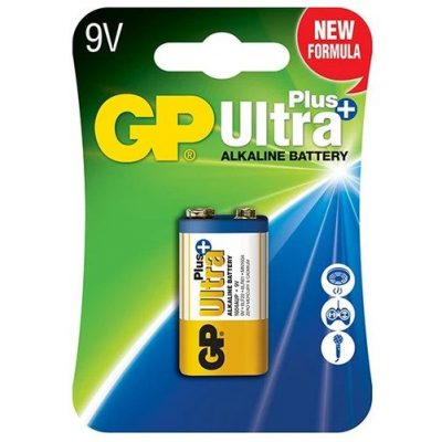10_GP Ultra Plus Alkaline 9V