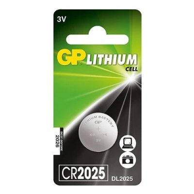 11_GP Lithium Cell Battery - CR2025