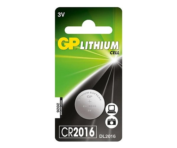 12_GP Lithium Cell Battery - CR2016