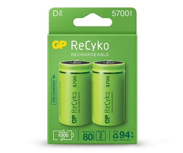 16_GP ReCyko battery 5700mAh D-2 battery pack