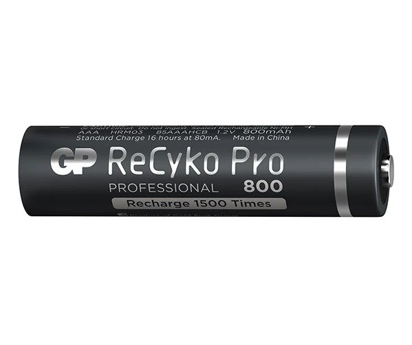 25_GP ReCyko Pro battery 800mAh AAA (4 battery pack)_2