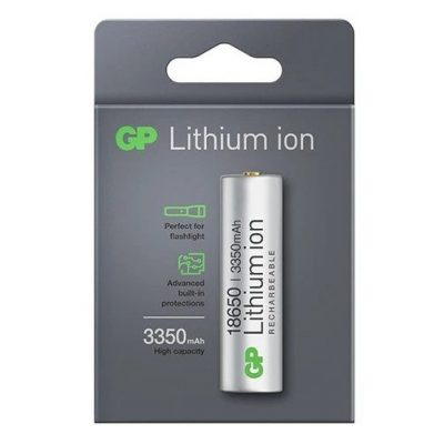 27_GP Li-ion 18650 3350mAh Rechargeable Battery