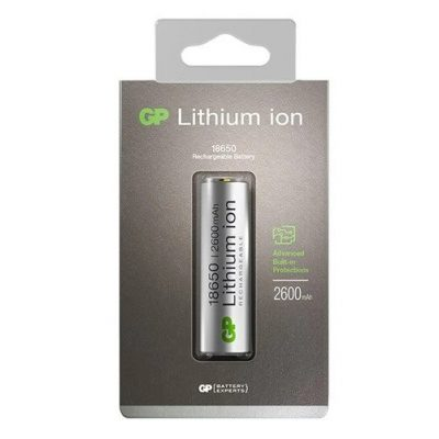 28_GP Li-ion 18650 2600mAh Rechargeable Battery