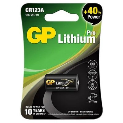 33_GP Primary Lithium Pro- CR123A