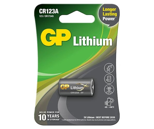 34_GP Primary Lithium - CR123A