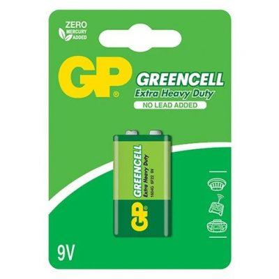 40_GP Greencell Carbon Zinc 9V