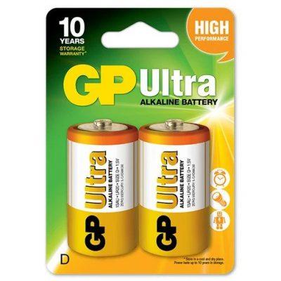 4_GP Ultra Alkaline D Size