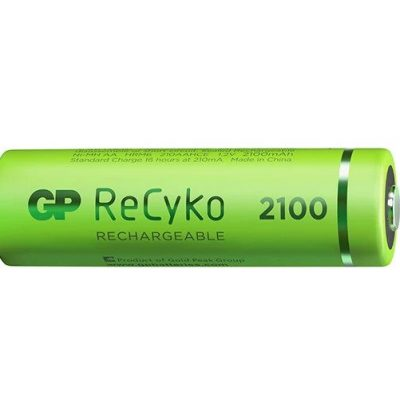 6_GP ReCyko battery 2100mAh AA-2 battery pack-2