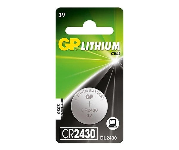 9_GP Lithium Cell Battery - CR2430