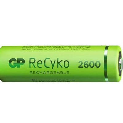 1_1_GP ReCyko battery 2600mAh AA (4 battery pack)_2