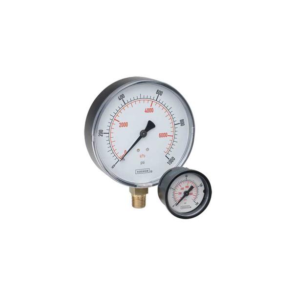 Series ABS Steel Case Dry Pressure Gauges