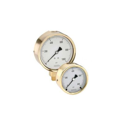 300 Series Brass Case Liquid Filled Pressure Gauges