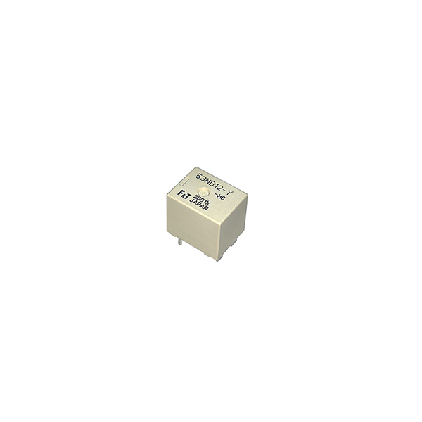 Compact A relay switches automotive loads