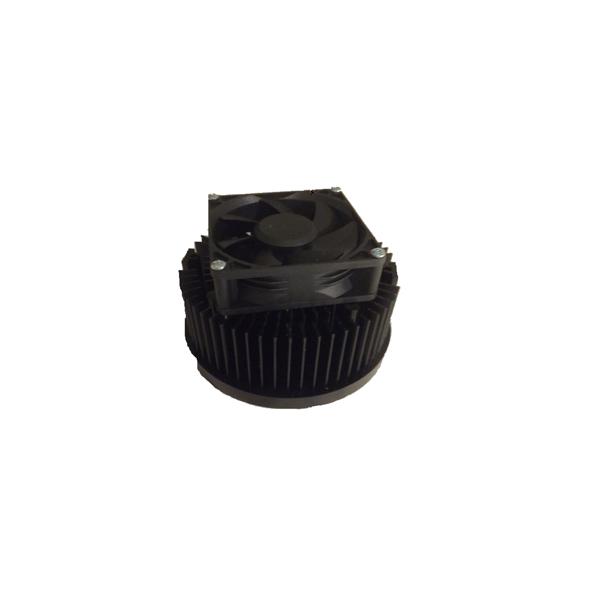 DUAL LED Heat Sink Active Passive w Fan