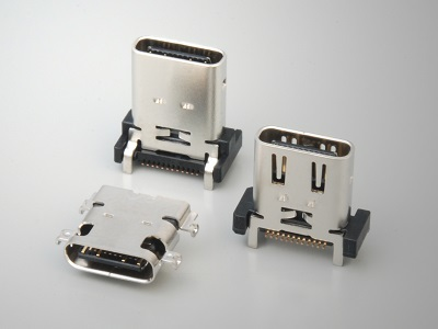 DX Series USB Type C Connector Receptacle