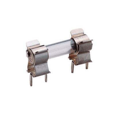 ESKA 120.800H Fuse Clip For 5x20mm Fuses 6.3A