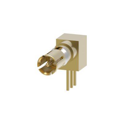 PCB mount angle plug